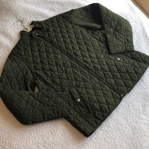 LANDS'END women's insulated quilted jacket